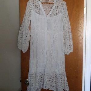 05e155a293f0 Nanette Lepore Dresses - Nanette Lepore Newport Eyelet Dress